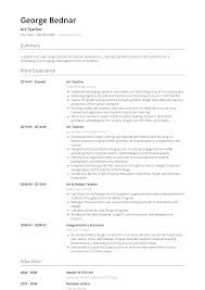 Art Teacher - Resume Samples & Templates | VisualCV 92 Rumes For Art Teachers Teacher Resume Examples Elegant 97 With No Teaching Experience Template High School Sales Lewesmr Dance Templates 30693 99 Objective Special Education Art Teacher Resume Examples Sample Secondary Sample Page 1 Are Your Boslu Vialartsteacherresume1gif 8381106 Pixels 41f0e842 3ed6 4fad 996d 8cb2c9684874 10 Example Free Download First Time