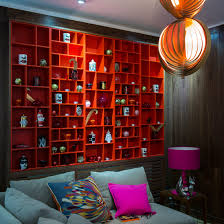 Red Living Room Ideas Uk by Bold Red Colour Schemes Home Trends Ideal Home