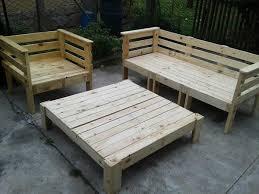 new pallet furniture design ideas pallet outdoor furniture