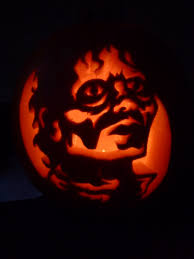 Pinterest Pumpkin Throwing Up Guacamole by Halloween Pumpkins 2011 Michael Jackson Thriller Pattern By