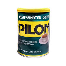 Cafe Pilon Decaffeinated Can 10 Oz