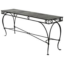 Pier One Sofa Table by Sofa Wrought Iron Moroccan Style Console Or Sofa Table At 1stdibs
