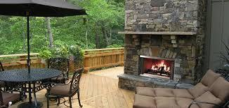 Montana Wood Fireplace