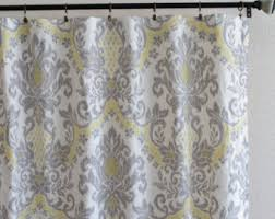 Yellow And Grey Bathroom Window Curtains by Waverly Bedazzle Etsy