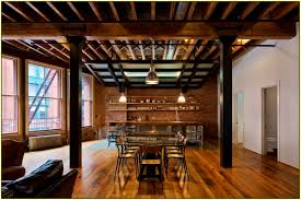 Exposed Basement Ceiling Lighting Ideas by Bathroom Knockout Home Exposed Beam Ceiling Ideas Design And