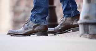 men s handmade goodyear welted leather shoes boots bed stu