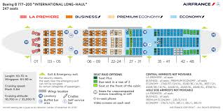 boeing 777 200 sieges cabin layouts air