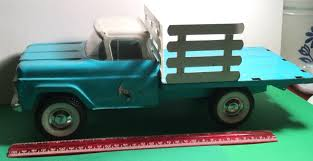 ORIGINAL VINTAGE NY-LINT Toys #4500 1960 Ford Truck Ranch Truck Nice ... 1960 Ford F100 427 V8 Truck Blue Oval 571960 The Gems Once Forgotten Effie Photo Image Gallery Highboys My Ford Crew Cab Enthusiasts Curbside Classic F250 Styleside Tonka Assetshemmingscomuimage6237598077002xjpgr Ranger T6 Wikipedia Shanes Car Parts Berlin Motors File1960 F500 Stake Truck Black Frjpg Wikimedia Commons For Sale Classiccarscom Cc708566 Schnablm23 F150 Regular Cab Specs Photos Modification Big
