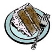 Slice of Cake Clip Art