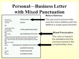 How to format a BUSINESS LETTER ppt video online