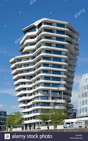 100 Marco Polo Apartments Tower Hamburg Germany Stock Photo 230038604
