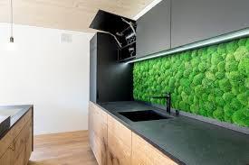 küche schwarz matt trifft natur schreinerei haas