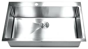 33 x 22 single bowl kitchen sink amazing single basin stainless