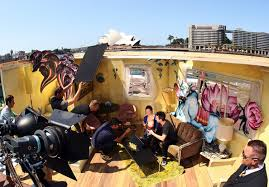 David LaChapelle Public Photo Shoot In Sydney