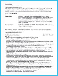 Sql Server Dba Resume Lovely Entry Level Database Administrator Unix Admin