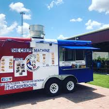 100 Food Trucks Houston The Crepe Machine Roaming Hunger
