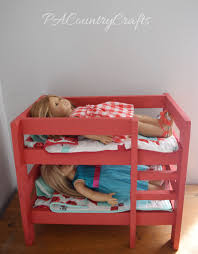 diy doll bunk beds pa country crafts