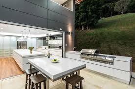 Steel Glass Doors Outdoor Carpet With Beautiful Kitchen Ideas For Summer