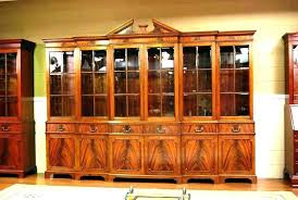 Corner Hutch Dining Room Cabinet Image Of Furniture Tall Buffet C