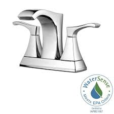 Water Faucet Aerator Assembly Process by Pfister Venturi 4 In Centerset 2 Handle Bathroom Faucet In