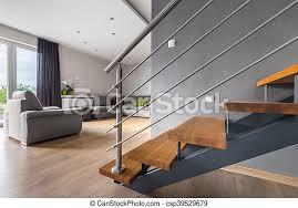 offener wohnraum mit treppe neues design helles wohnzimmer