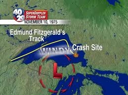 What Year Did The Edmund Fitzgerald Sank by Weather Behind The Edmund Fitzgerald 40 29 Tv Weather Blog