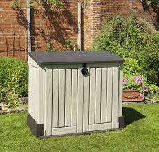 4x6 Plastic Storage Shed by Keter Store It Out Midi Outdoor Plastic Garden Storage Shed 130 X