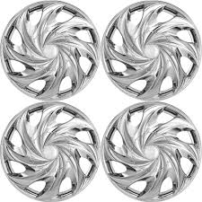 100 Select Truck 4 PC Hubcaps Fits Auto SUV 15 Chrome Replacement Wheel