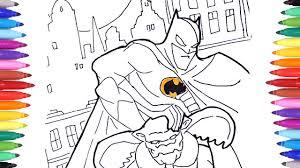Batman Superhero Coloring Pages For Kids