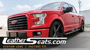 2015 Ford F-150 SuperCrew Custom Leather Seat Upholstery Interior ... F100 Bench Seat Upholstery Vinyl With Inserts 671972 Amazoncom A25 Toyota Pickup Front Solid Charcoal Covers Benchvy Truck Kit Springs Replacement Foam 972002 Camaro Z28 Rs Ss Katzkin Leather Hawks Chevy Splitench Kits Seatbench 1995 Chevrolet Impala Parts B19400227 199496 1966 66 Fairlane Interior Build Your Own 11987 Chevroletgmc Standard Cabcrew Cab 01966 U104 Which Cover Fabric Works Best For My Needs 2006 Dodge Ram 2500 8lug Magazine Howto Install An Youtube