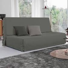 housse de canapé grise housse de canapé et clic clac déco textile eminza