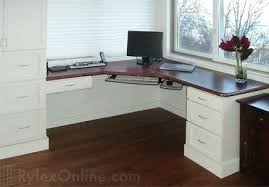 desk custom wood corner desk custom corner desks for home 7 diy