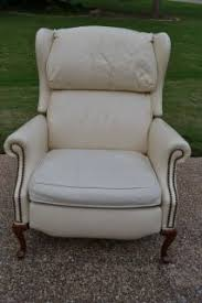 Ethan Allen Recliner Chairs by Recliner Chair Ethan Allen Genuine Leather Arm Chair