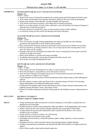 Software Quality Assurance Engineer Resume Samples Velvet Jobs ... Quality Assurance Resume New Fresh Examples Rumes Ecologist Assurance Manager Sample From Table To Samples Analyst Templates Awesome For Call Center Template Makgthepointco Beautiful Gallery Qa Automation Engineer Resume 25 Unique Unitscardcom Sakuranbogumicom 13 Quality Cover Letter Samples Ldownatthealbanycom Within