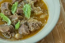 kamounia rindfleisch und lebereintopf mit kreuzkümmel ägyptische küche und tunesische küche