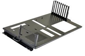lian li dk 04x black tempered glass desktop aluminum body iron