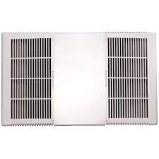 Nutone Bathroom Fan Replacement Cover by Nutone 85315000 Heater And Ventilation Fan Lens With Grille