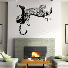 großhandel neue tiger leopard wasserdichte wandaufkleber kreative diy persönlichkeit wohnzimmer schlafzimmer dekoration removable poster wallpaper