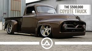 The $500,000 Coyote Truck | '55 Ford F100 | OLD CAR TV REVIEW Future Of The American Pickup Truck Pin Ni Classic Trucks Sa Pinterest 195355 Ford F100 Outside Sunvisor Steel With Brackets Trim 5355 55 Ford F100 Steven Bloom 5 Total Cost Involved Ford 317px Image 6 My Project Page 9 Enthusiasts Forums 1955 On Racing Vn815 Wheel Deals Car Shows Trucks And 20 Inch Rims Truckin Magazine 53 1987 Cme 1997 Northeast Geotech For Sale Classiccarscom Cc1044073
