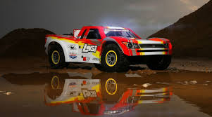 100 Rc Desert Truck SuperBajaRey 16 4wd Electric RTR RED Bills RC Hobby