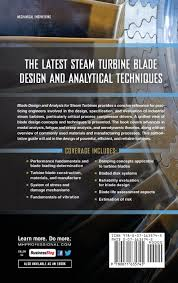 Dresser Rand Wellsville New York by Blade Design And Analysis For Steam Turbines Murari P Singh Phd