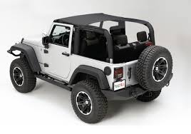 All Things Jeep Mesh Summer Brief Top for Jeep Wrangler JK 2