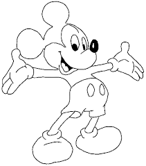 Disney Mickey Mouse Coloring Pages Printable