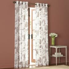 Jc Penney Curtains Martha Stewart by Marthawindow Faded Floral Grommet Top Sheer Panel Found At