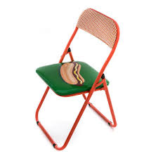 100 Folding Chair Art MCA Chicago Store Hot Dog
