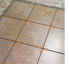 home dzine home improvement how to tile a kitchen floor