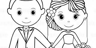 Free Printable Wedding Coloring Book For 511436 Pages 2015