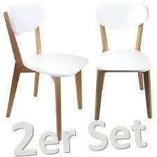 weiße stühle aus holz günstig kaufen ebay