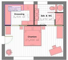 chambre parentale avec dressing plan suite parentale avec salle de bain et dressing 4 plan suite