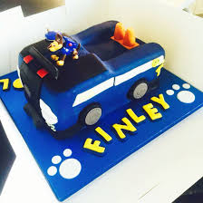 Paw Patrol Chase Truck Birthday Cake. I Made This Cake For My Two ... Truck Cake Kay Cake Designs Monster Truck My First Wonky Birthday Design Parenting Monster Cakes Hunters 4th Decoration Ideas Wedding Academy Cakes From Maureens Semi In 2018 Pinterest 10 Dump For Boys Photo Muddy